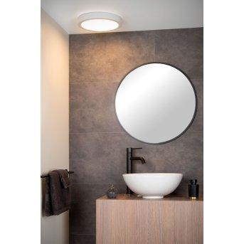 Lucide BRICE Lámpara de Techo LED Blanca, 1 luz