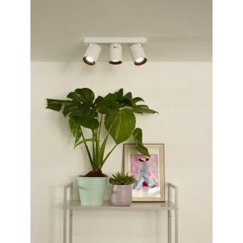 Lucide NIGEL Lámpara de Techo LED Blanca, 3 luces