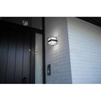 Lutec Cruz Aplique para exterior LED Antracita, 1 luz