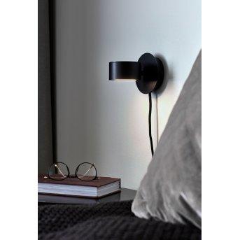 Nordlux CLYDE Aplique LED Negro, 1 luz