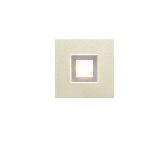Grossmann Karree Aplique LED Titanio, 1 luz