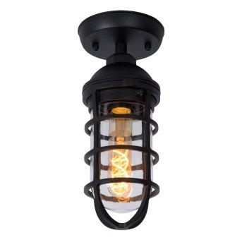 Lucide LIMAL Lámpara de techo para exterior Negro, 1 luz