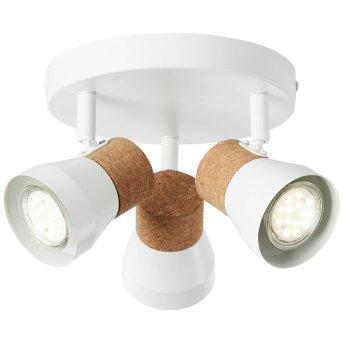 Brilliant Moka Proyector Blanca, 3 luces