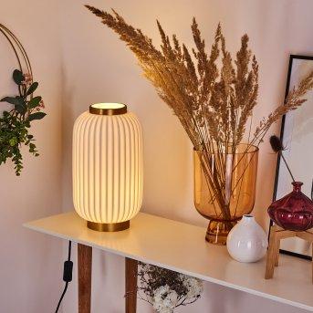 Dyce Lámpara de mesa dorado, 1 luz
