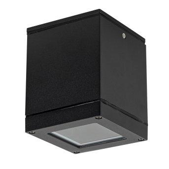 KS Verlichting Sigma Lámpara de techo para exterior Negro, Blanca, 1 luz