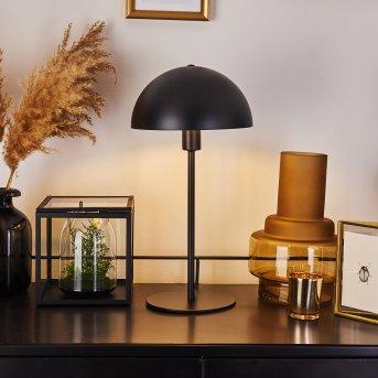 Tom Kings Lámpara de mesa Negro, Blanca, 1 luz