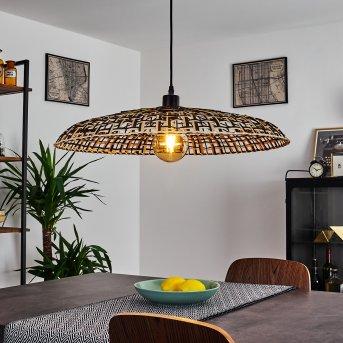 Musuku Lámpara Colgante Negro, 1 luz