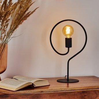 Mialo Lámpara de mesa Negro, 1 luz