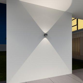 KS Verlichting Icon Aplique para exterior Negro, 2 luces