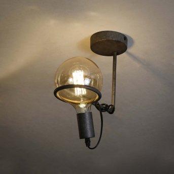 Ostuni Lámpara de Techo Plata, 1 luz