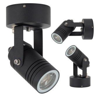 KS Verlichting Beamer Foco proyector jardin Negro, 1 luz