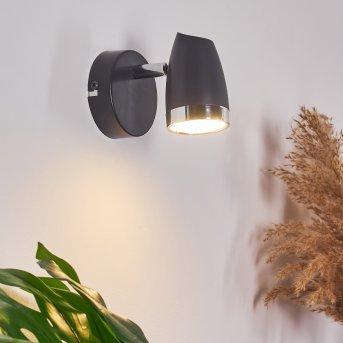 Idlewild Aplique LED Negro, 1 luz