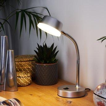 Pineda Lámpara de mesa LED Cromo, 1 luz