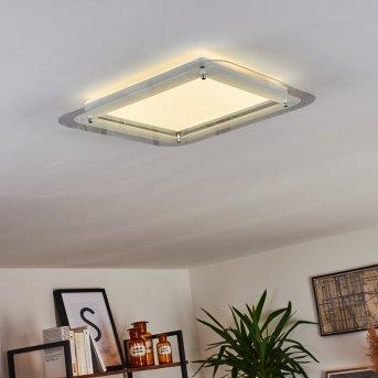 Ipres Lámpara de Techo LED Blanca, 1 luz