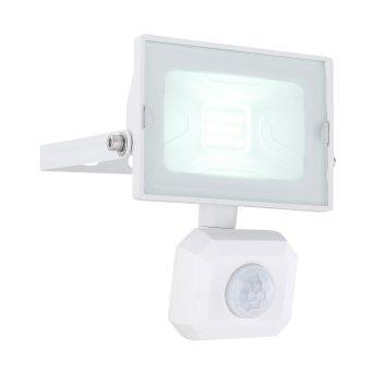 Globo HELGA Foco proyector jardin LED Blanca, 1 luz, Sensor de movimiento