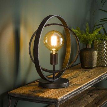 Mirandola Lámpara de mesa Negro, 1 luz