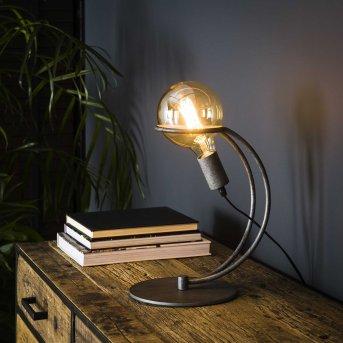 Ostuni Lámpara de mesa Plata, 1 luz