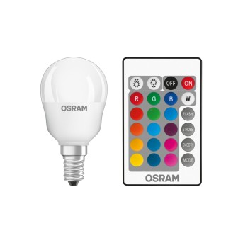 Osram LED E14 RGBW 4,5 Watt 2700 Kelvin 250 Lúmenes