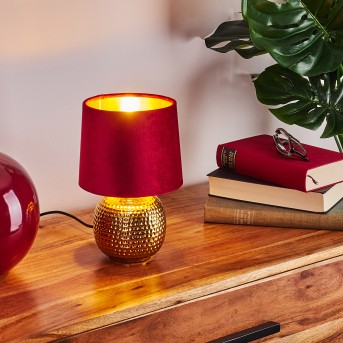 Beddie Lámpara de mesa dorado, 1 luz