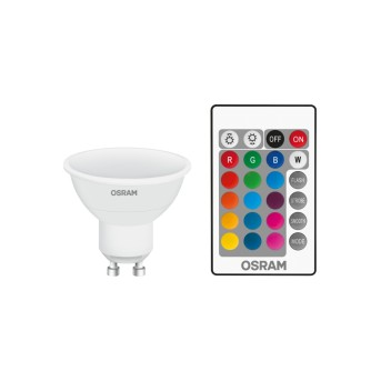 Osram LED GU10 RGBW 4,5 Watt 2700 Kelvin 250 Lúmenes