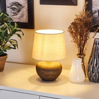 Exchange Lámpara de mesa Marrón, 1 luz