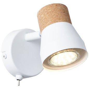Brilliant Moka Proyector Blanca, 1 luz