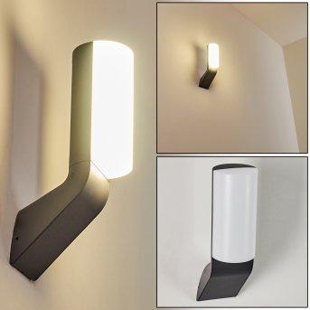 Aplique para exterior Bovlund LED Negro, 1 luz