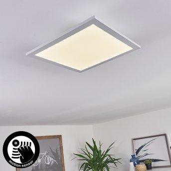 Sordos Lámpara de Techo LED Blanca, 1 luz, Sensor de movimiento