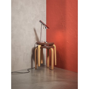 Louis Poulsen AJ Mini Lámpara de mesa Acero inoxidable, 1 luz