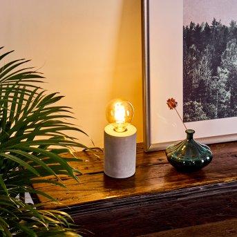 Solano Lámpara de mesa Gris, 1 luz