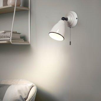 Brilliant TELIO Aplique Gris, Blanca, 1 luz