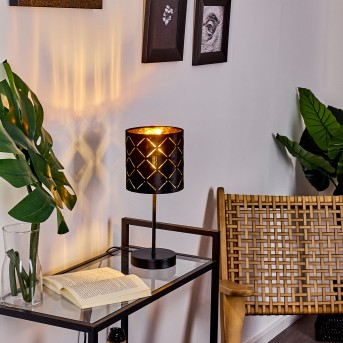 Arnoya Lámpara de mesa Negro, 1 luz