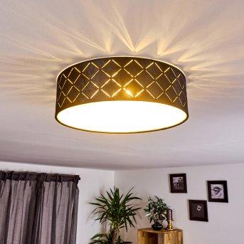 Arnoya Lámpara de Techo Negro, Cobre, 1 luz