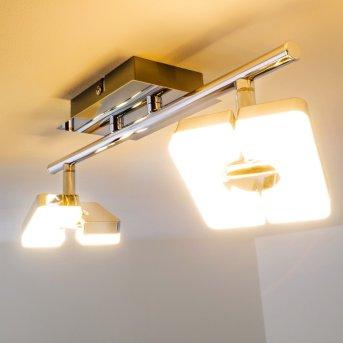 Turin Foco spot LED Cromo, 2 luces