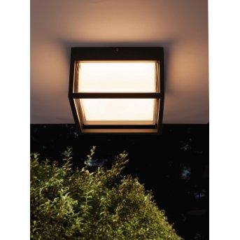 Mantra CHAMONIX Lámpara de techo para exterior LED Gris, 1 luz