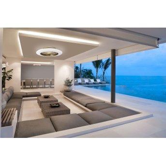 Mantra ALISIO Ventilador de techo LED Latón, 1 luz, Mando a distancia