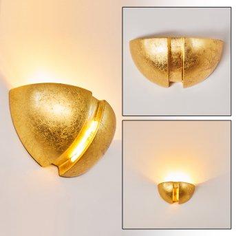 Kawasaki Aplique dorado, 1 luz