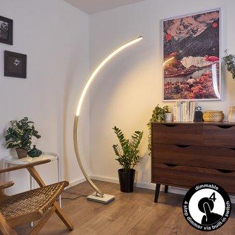Uttorp Lámpara de Pie LED Plata, 1 luz