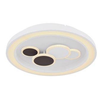 Globo NOLO Lámpara de Techo LED Blanca, 1 luz, Mando a distancia, Cambia de color