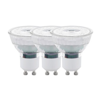 Eglo 3x LED GU10 4,5 Watt 2700 Kelvin 345 Lumen