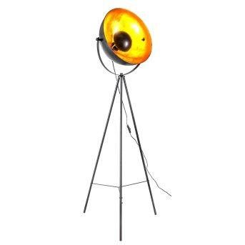 Nino-Leuchten Timo Lámpara de Pie Negro, 1 luz
