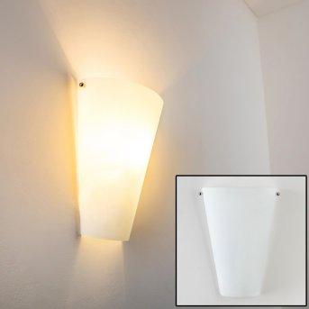 Zera Aplique Aluminio, Blanca, 1 luz