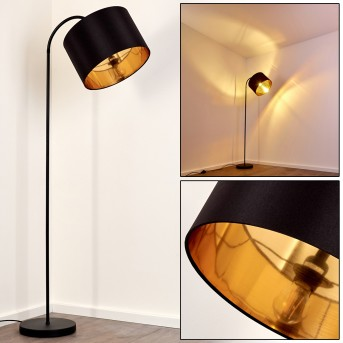 Pattburg Lámpara de Pie Negro, 1 luz