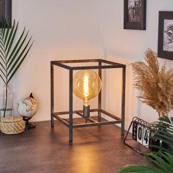 Takoi Lámpara de mesa Plata Antigua, 1 luz