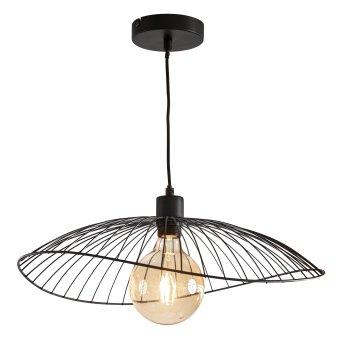 Nino-Leuchten CARY Lámpara Colgante Negro, 1 luz