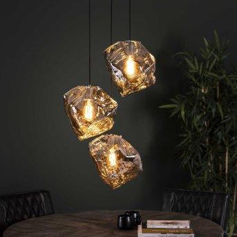 Marore Lámpara Colgante Plata, 3 luces