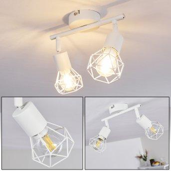 Baripada Lámpara de Techo Blanca, 2 luces