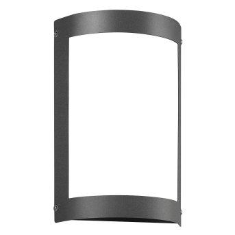 CMD AQUA MARCO Aplique para exterior LED Antracita, 1 luz, Sensor de movimiento