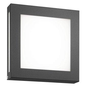 CMD AQUA LEGENDO Aplique para exterior LED Antracita, 1 luz, Sensor de movimiento