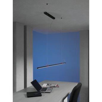 Escale SLIMLINE Lámpara Colgante LED Negro, 1 luz